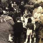 1965. St Veep Church Fete. Children's competition