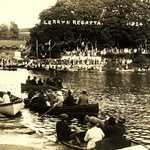 1924. Lerryn River Regatta. From Granary Quay.