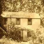 1960. View of Wood Cottage from the front garden