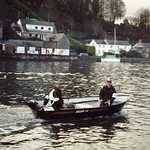 2000. Lerryn River, Seagull Race. Here comes the