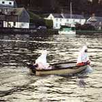 2000. Lerryn River	Seagull race. Mystery crew!