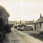 1920s. Mill Lane. Showing the original Memorial Hall, probably newly opened.