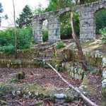 2009. Remains of the cascade and pond, Tivoli Park. cf. 0100 (1920s), 0195 (1950s).