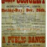 1921. Concert and Dance in support of Miners' Relief Fund. Lerryn String Band.